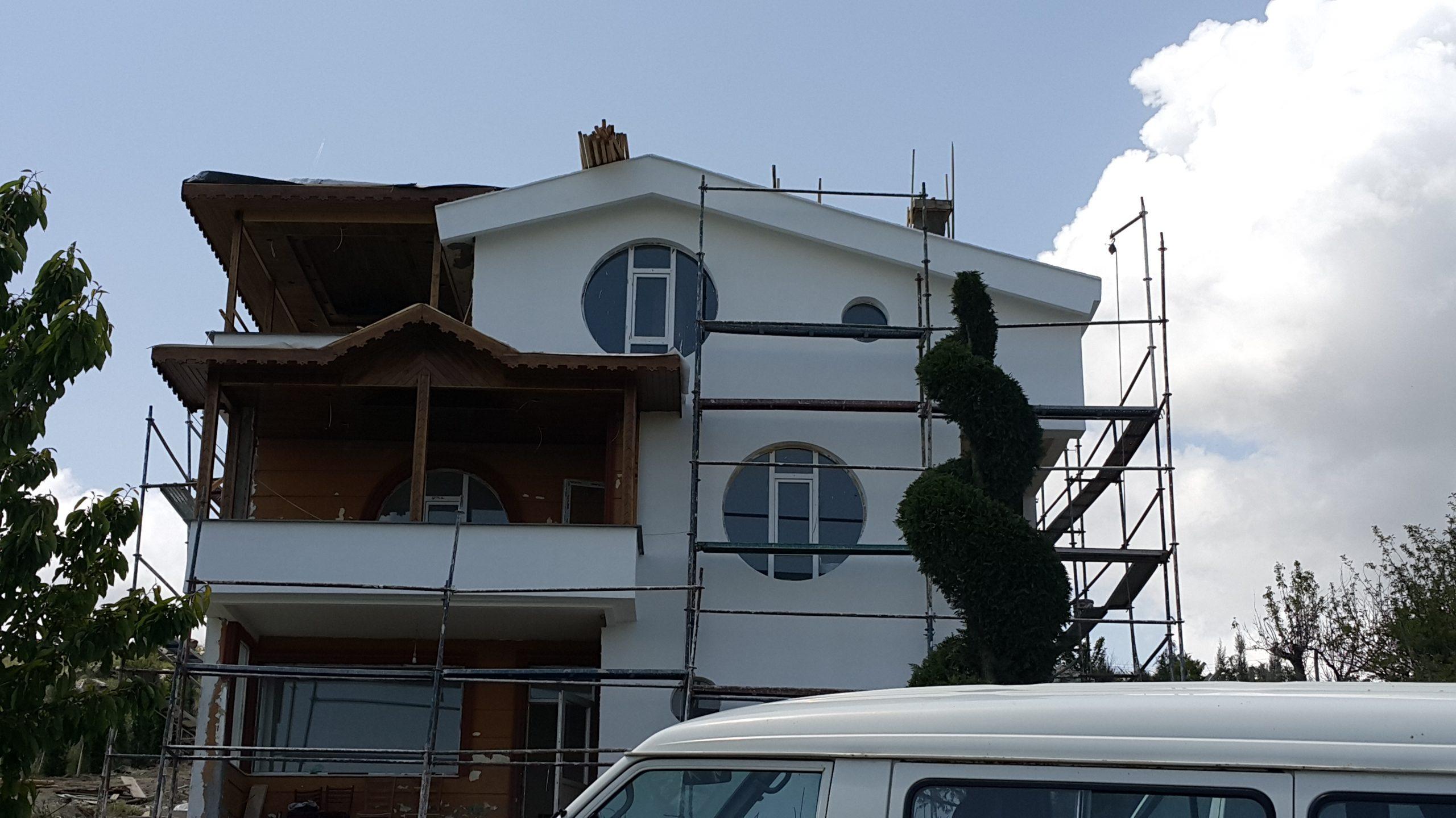 Pursaklar Saray Belediye Başkanı Villa Lambiri ve Çatı Uygulaması